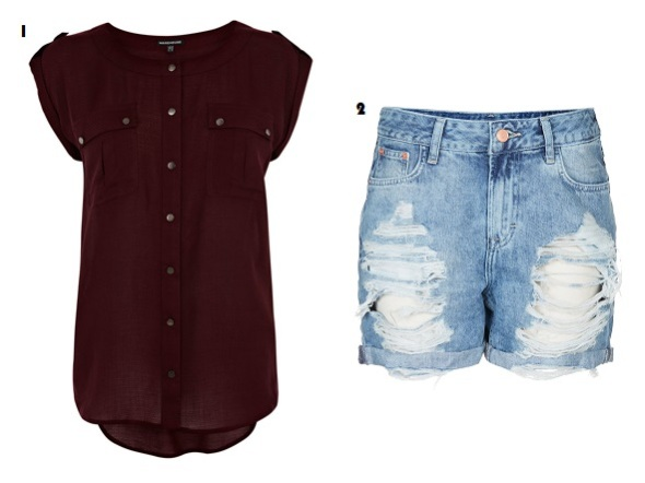 Festival, Fashion, Style, What to wear, Top, Warehouse, Topshop, Shorts