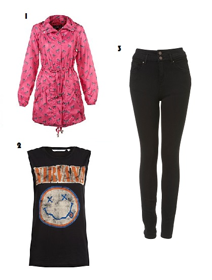 Festival, Parka, New Look, Topshop, Jeans, Nirvana, Tank top, Smile, Fashion, Style, What to wear