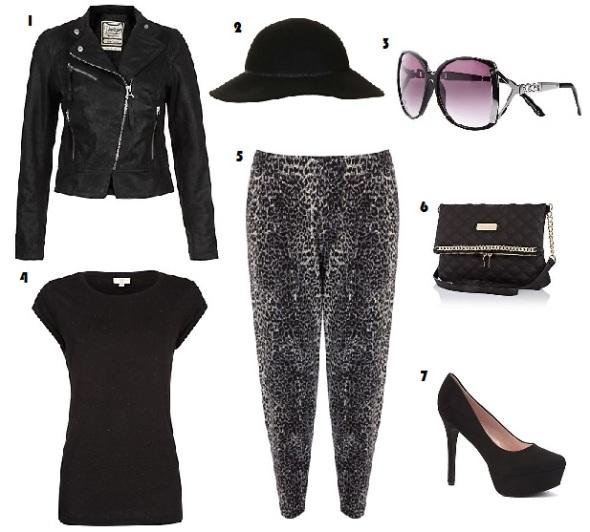 Style Envy, Fashion, Celebrity, Myleene Klass, New Look, River Island, Topshop, Oasis, Leopard print, Jacket, Bag, Sunglasses, Shoes, Hat