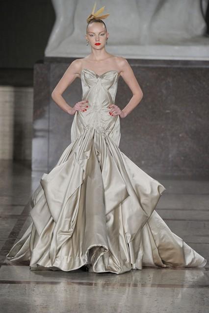 Zac Posen, Designer, Vogue, AW'12, Bridal, Fashion, Style, Dress