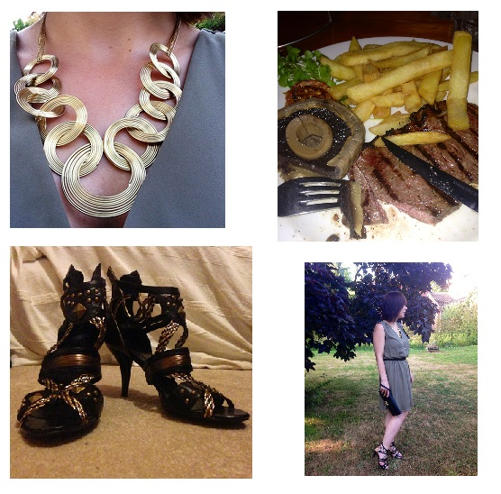 Necklace, Food, Steak, Fashion, Style, Shoes, Office, Dorothy Perkins, OOTD, Today I'M Wearing, Style