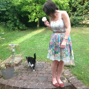 Oasis, New Look, Fashion, Sundress, Style, Today I'm Wearing, OOTD, Cat, Moccasin, Shoe