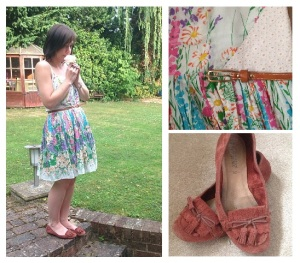 Oasis, Sundress, Fashion, Style, Today I'm Wearing, OOTD, New Look, Moccasins, Shoes, Floral