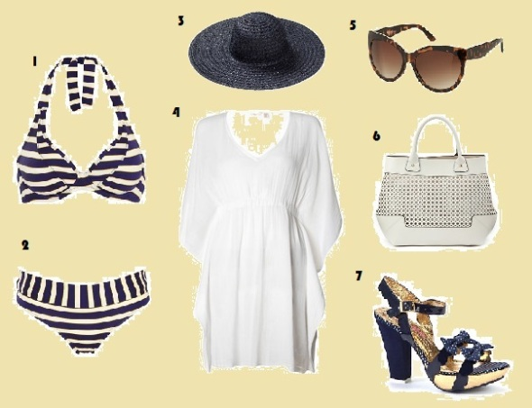 Pool, Bikini, Figleaves, Accessorize, New Look, Topshop, What to Wear, Holiday, Fashion, Style