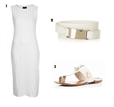 Emma Watson, Style Envy, Fashion, What to Wear, Topshop, River Island, White