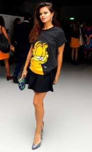 Bip Ling, PPQ, London Fashion Week, Catwalk, Ready-to-wear, Celebrity, Front row, Style, Garfield