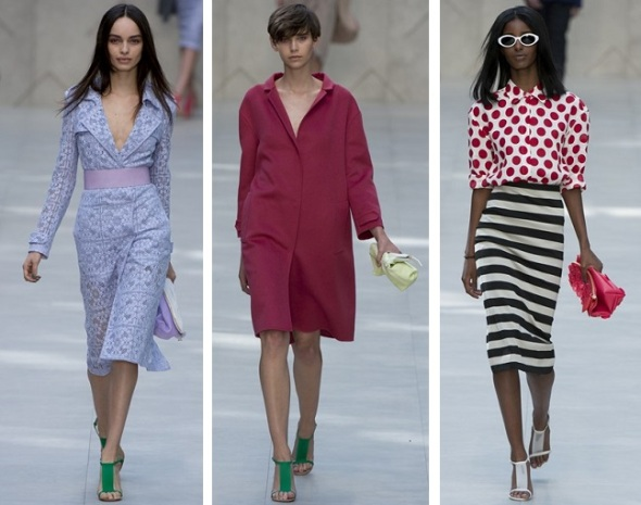 Burberry Prorsum, London Fashion Week, SS'14, Catwalk, Fashion, Ready-to-wear