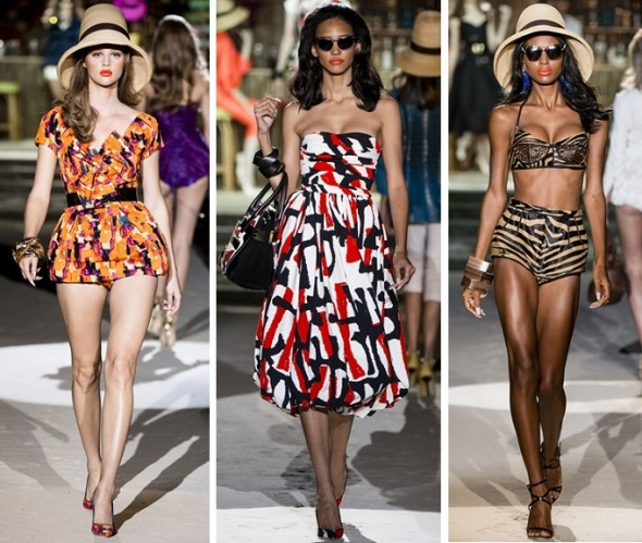 DSquared2, Milan Fashion Week, Catwalk, Ready-two-wear, SS'14, Fashion