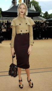 Elena Perminova, Burberry Prorsum, London Fashion Week, SS'14, Catwalk, Fashion, Style, Celebrity