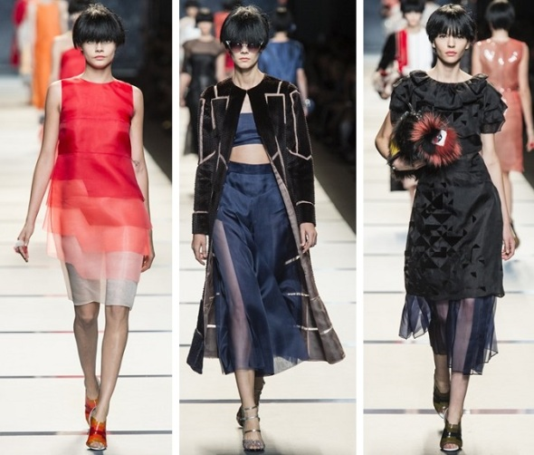Fendi, Milan Fashion Week, Karl Lagerfeld, Catwalk, SS'14, Ready-to-wear, Fashion