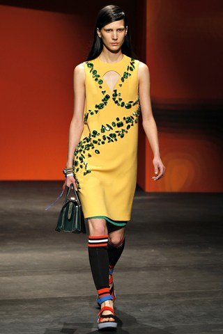 Prada, SS'14, Milan Fashion Week, Fashion, Ready-to-wear, Catwalk