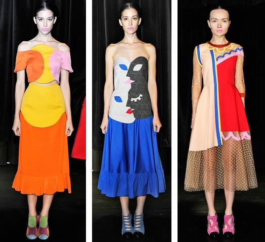Tata Naka, SS'14, London Fashion Week, Catwalk, Ready-to-wear, Fashion